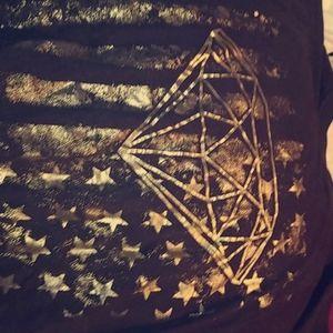 Diamond merica t-shirt